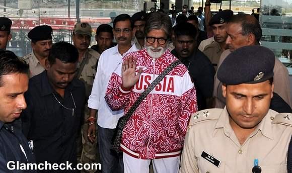 Amitabh Bachchan for Satyagrah