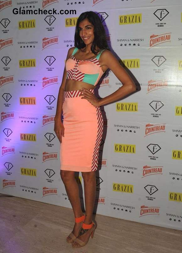 Anushka Manchanda at F in Focus Nights Party 2013