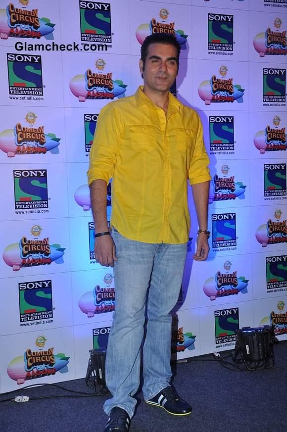 Arbaaz Khan judges Comedy Circus