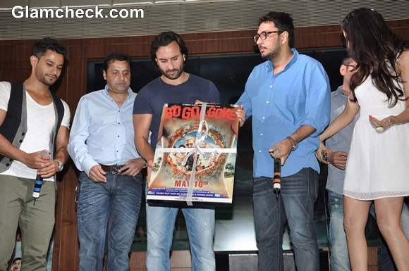 Cast of Go Goa Gone Launch Music in Mumbai