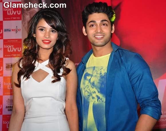 Chetna Pande Ruslaan Mumtaaz at I Dont Luv U Music Launch