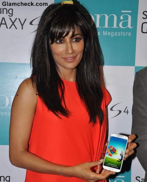 Chitragada Singh 2013 at Samsung Galaxy S4 Launch