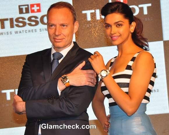 Deepika Padukone TISSOT Watch