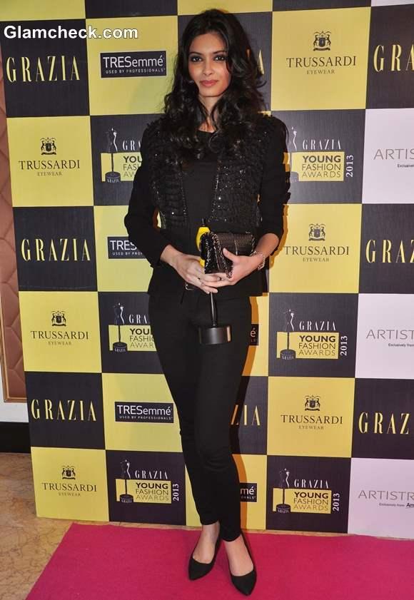 Diana Penty at Grazia Awards 2013
