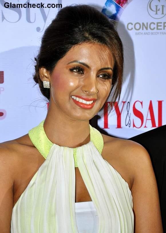 Geeta Basra 2013 Beauty Salon launch