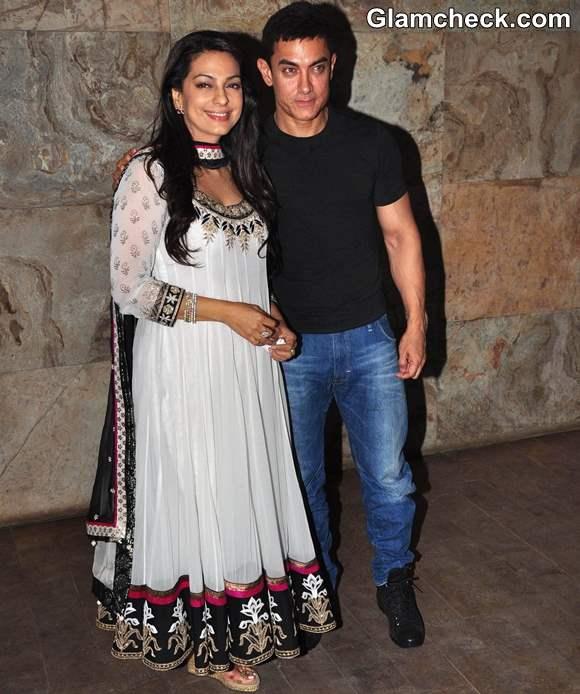Juhi Chawla at Aamir Khan 25 Years in Film Industry Celebration
