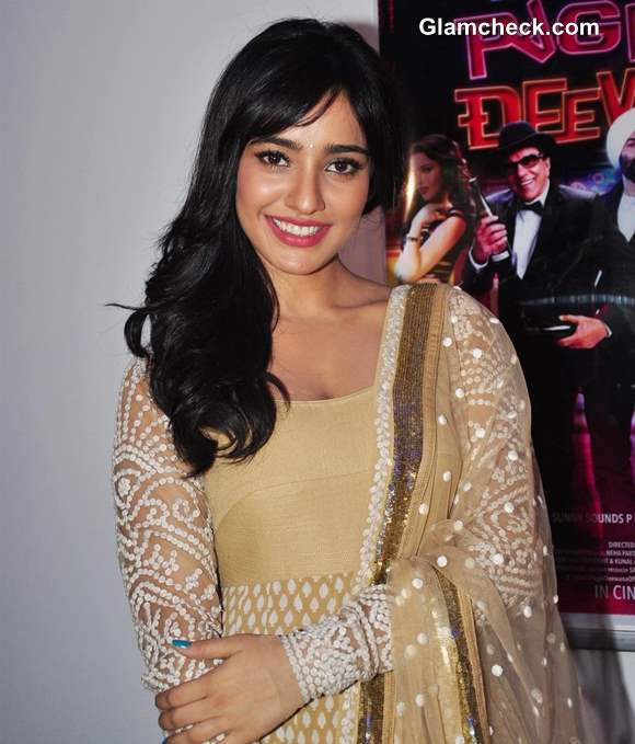 Neha Sharma Pretty in Anarkali 2013