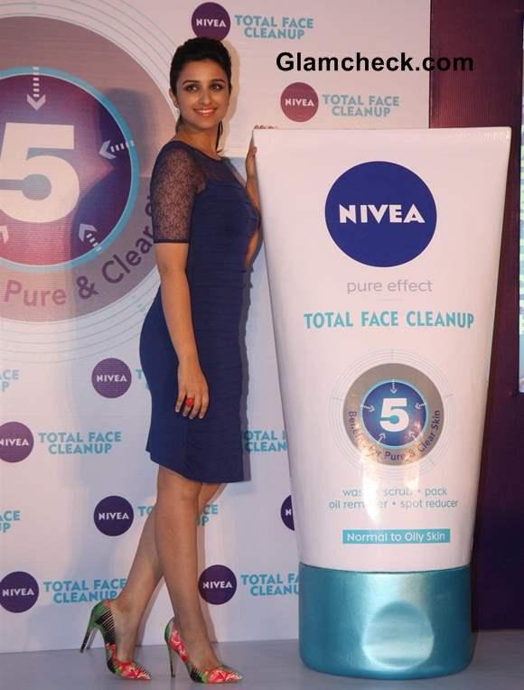 Parineeti Chopra Launches Nivea Total Face Clean Up  Mumbai