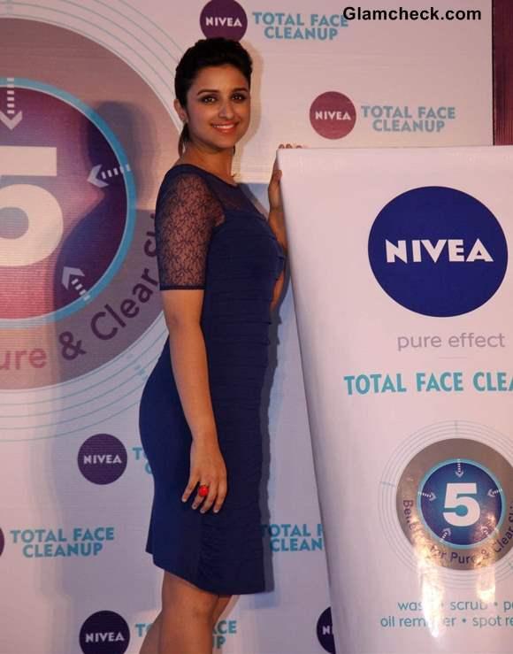 Parineeti Chopra Launches Nivea Total Face Clean Up