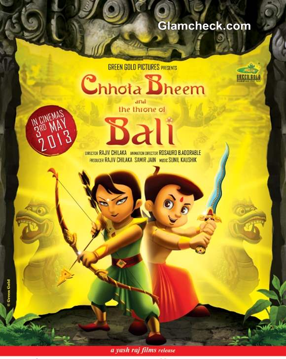 Poster Chhota Bheem and the Throne of Bali