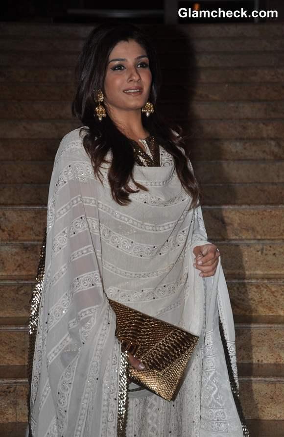 Raveena Tandon at Jai Maharashtra Channel Launch