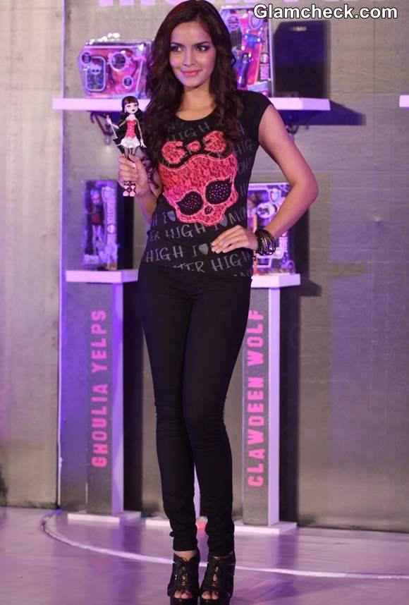 Shahzahn Padamsee Launches Monster High Dolls