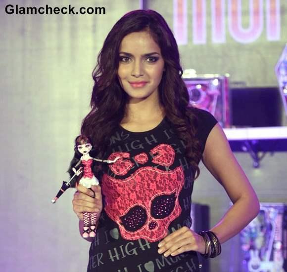 Shahzahn Padamsee at Monster High Dolls launch