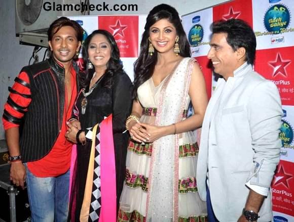 Shilpa Shetty Goes Traditional at Nach Baliye Finale