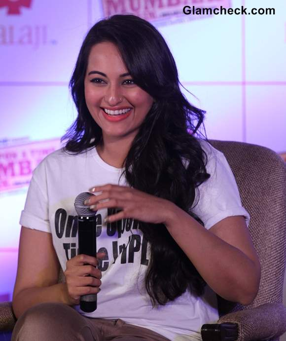 Sonakshi sinha Once Upon a Time in Mumbai Again Promotion