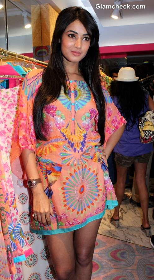 Sonal Chauhan at Manish Arora Flagship Store launch in Mumbai