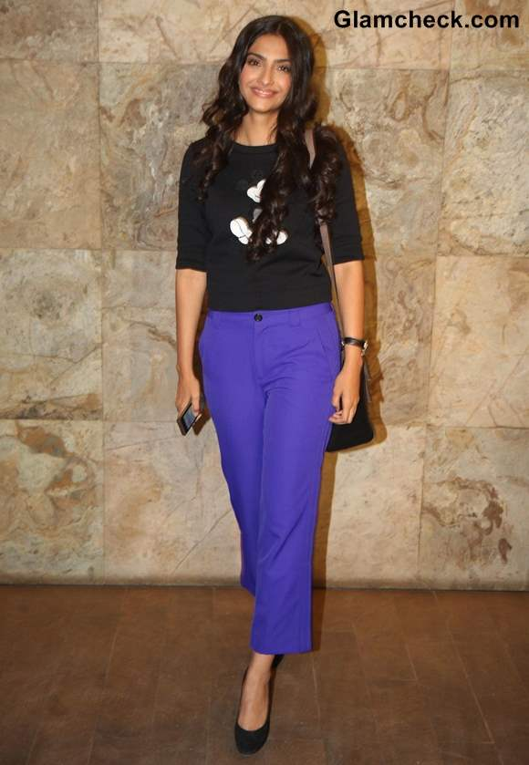 Sonam Kapoor 2013 casual style