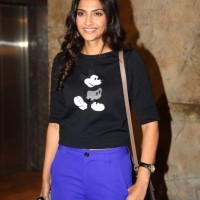 Sonam Kapoor at Bombay Talkies Special Screening