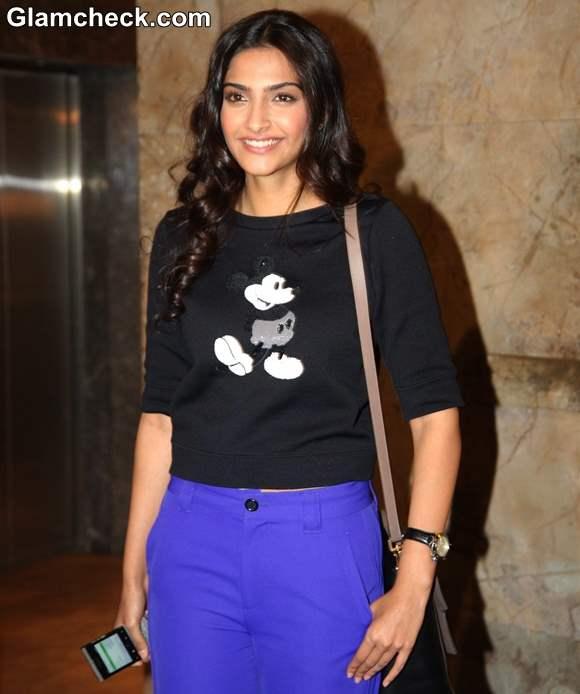 Sonam Kapoor at Bombay Talkies Special Screening