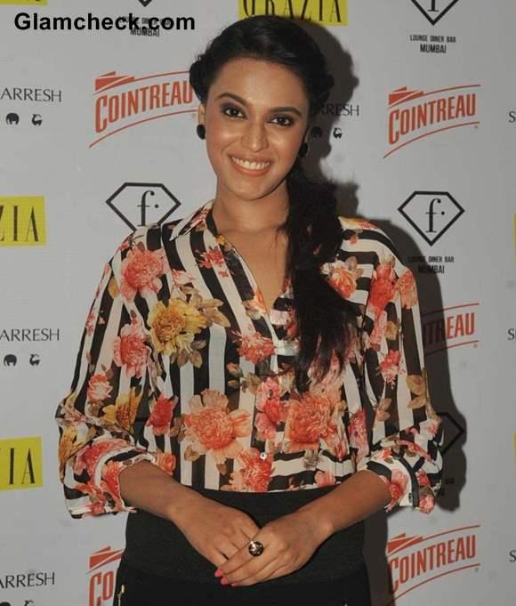 Swara Bhaskar F in Focus Nights Party 2013