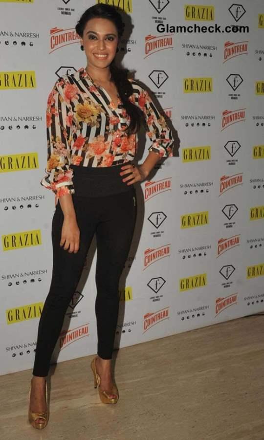Swara Bhaskar at F in Focus Nights Party