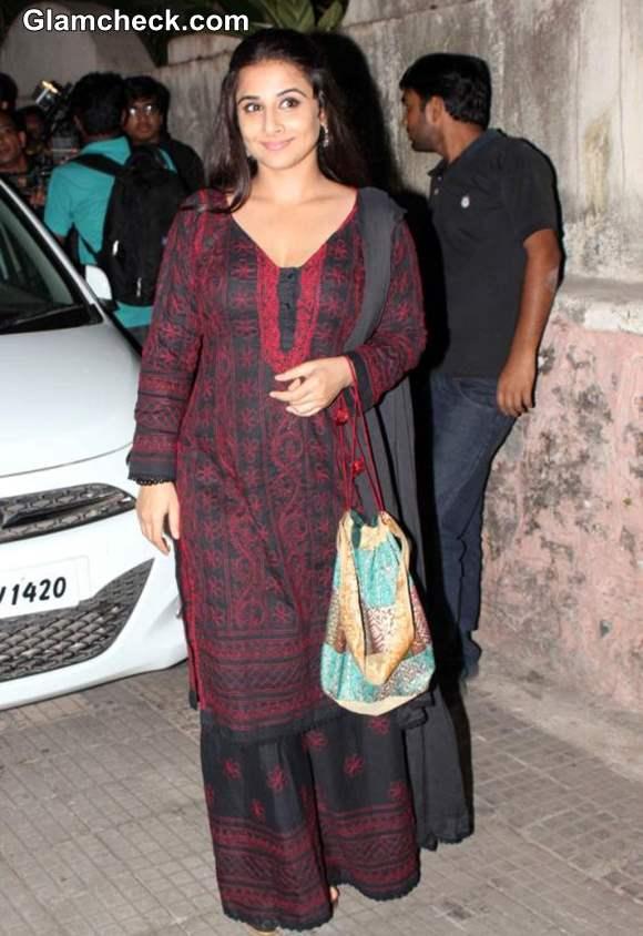 Vidya Balan at Aashiqui 2 Screening