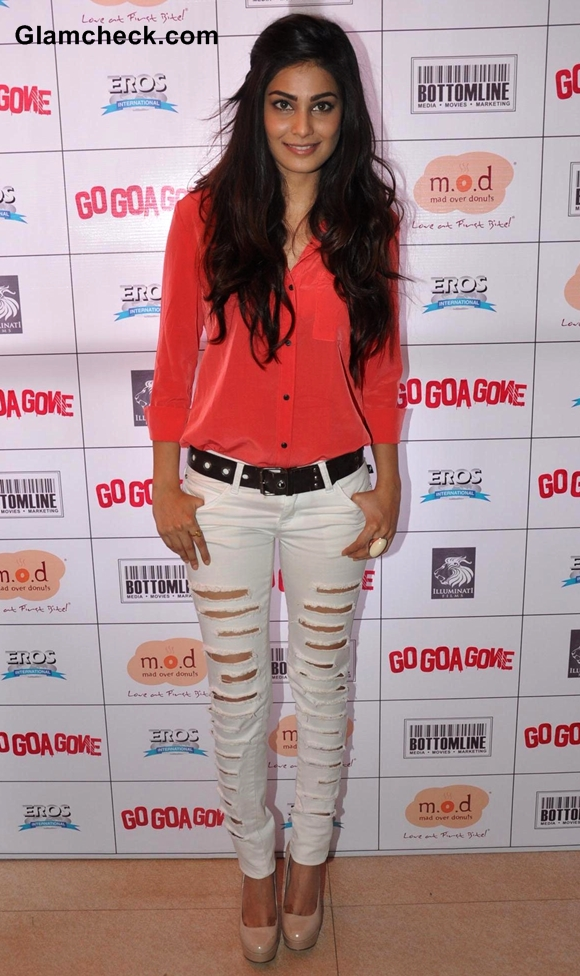 Actress Pooja at Go Goa Gone Promotions in Mumbai