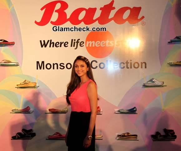 Aditi Rao Hydari 2013 Bata India Monsoon Collection launch
