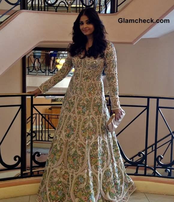 Aishwarya Rai outfit 2013 Cannes Film Festival