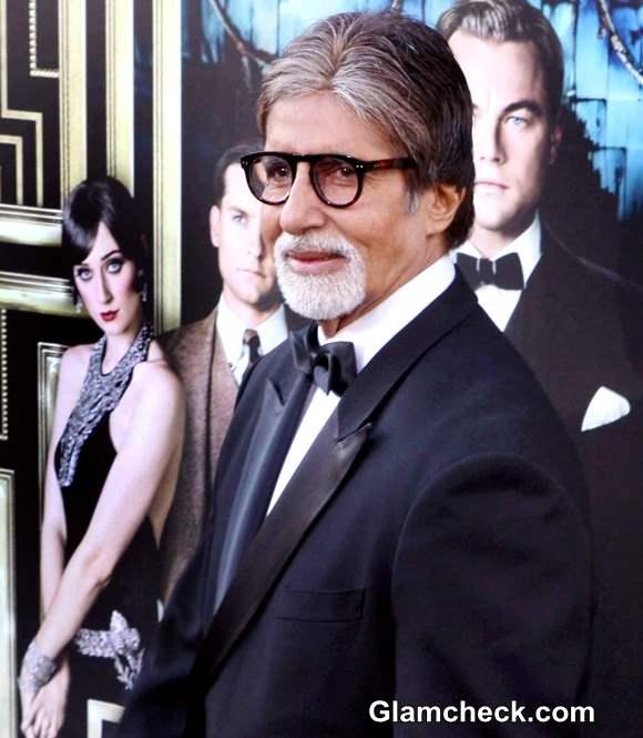 Amitabh Bachchan The Great Gatsby Premiere