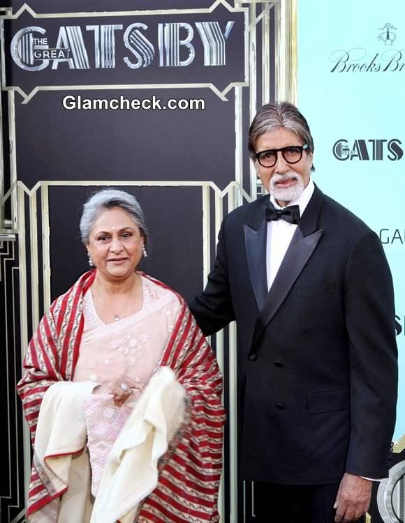 Amitabh Jaya Bachchan The Great Gatsby Premiere