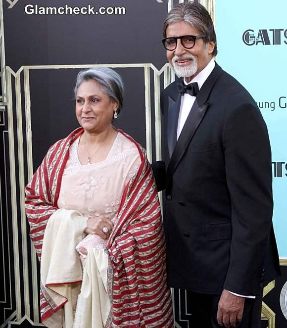 Amitabh Jaya Bachchan at The Great Gatsby Premiere