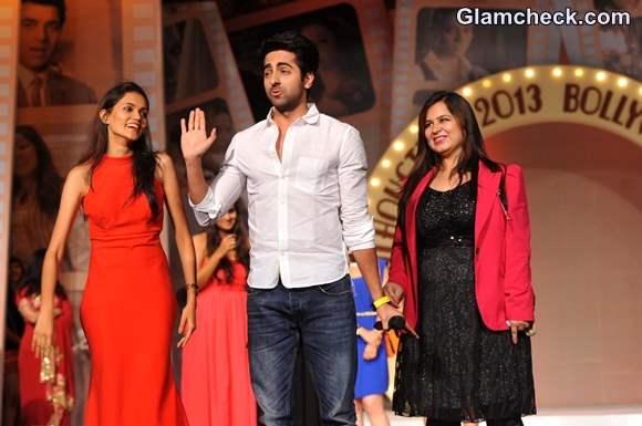Ayushman Khurrana Walks the Ramp at Silhouettes 2013 Bollywood Bytes Fashion Show