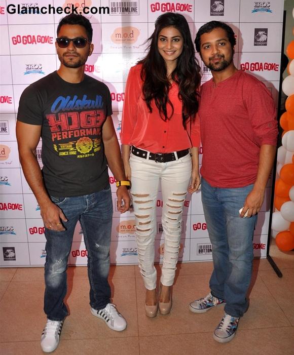 Cast of Go Goa Gone Promote Film in Mumbai