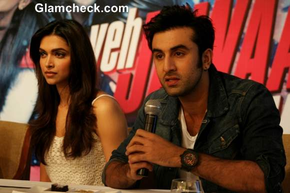 "Cast of ""Yeh Jawaani Hai Deewani"" Promote Film in Delhi"