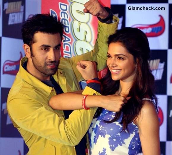 Deepika Padukone Ranbir Kapoor at Yeh Jawaani Hai Deewani