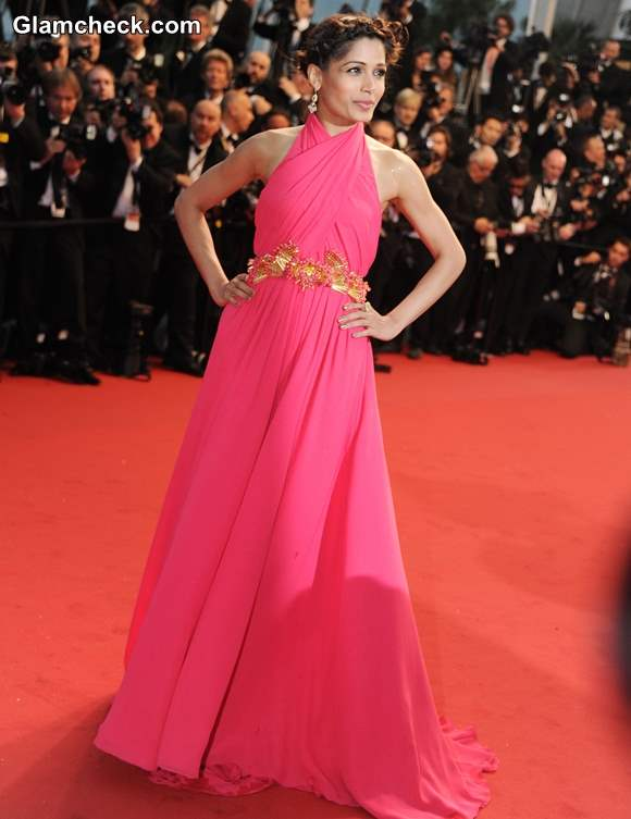 Freida Pinto at 2013 Cannes Film Festival Opening Ceremony
