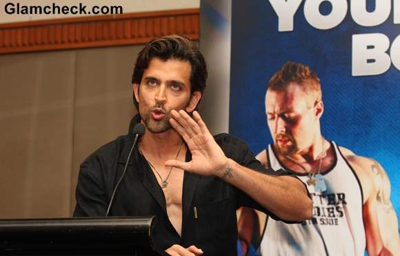 Hrithik Roshan Guide to Your Best Body Book Launch