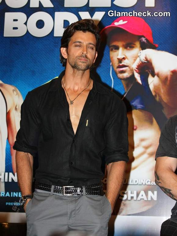 Hrithik Roshan at Guide to Your Best Body Book Launch