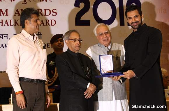 John Abrahim at 60th National Film Awards 2012 Held in New Delhi