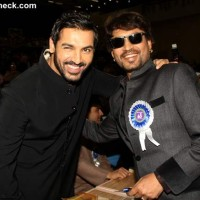 John Abraham and Irrfan Khan at 60th National Film Awards 2012
