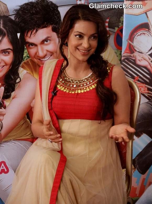 Juhi Chawla Promotes Hum Hain Raahi Car Ke movie