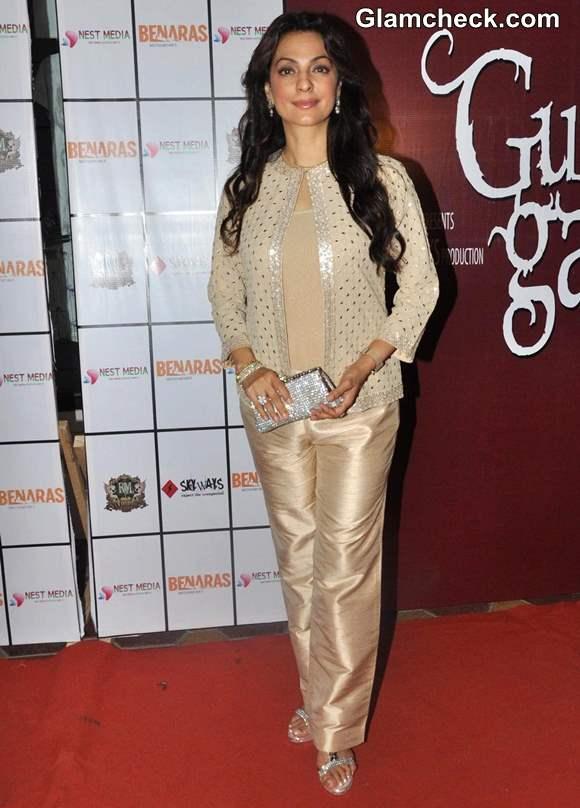Juhi Chawla at Gulab Gang Wrap-up Party