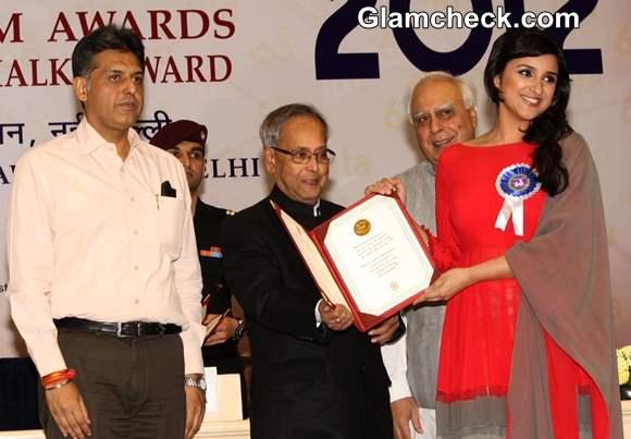 Parineeti Chopra at 60th National Film Awards 2012 Held in New Delhi