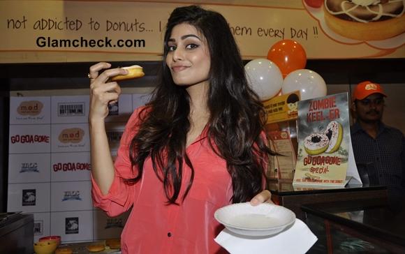 Pooja Gupta at Go Goa Gone movie Promotions in Mumbai