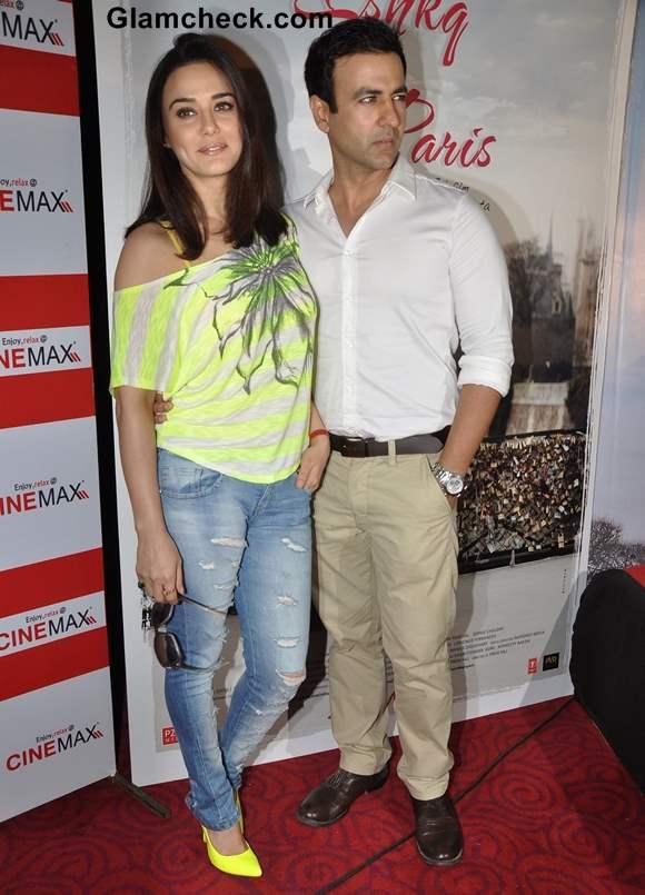 Preity Zinta Ishkq in Paris Release Date