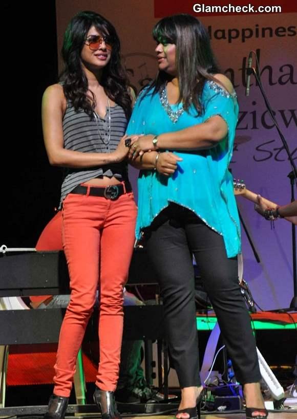 Priyanka Chopra at MuzicWorks Event 2013