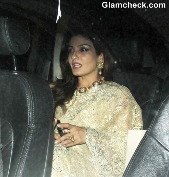 Raveena Tandon at Karan Johar 41st Bday Bash