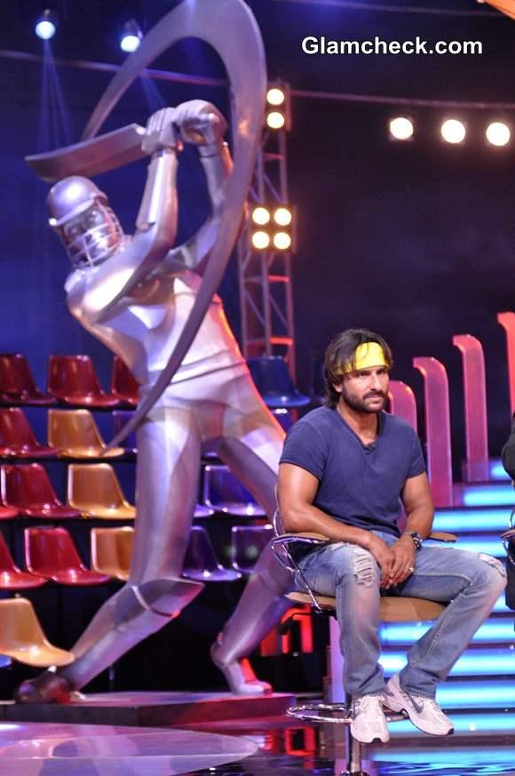 Saif Ali Khan Promotes Go Goa Gone 2013 at IPL
