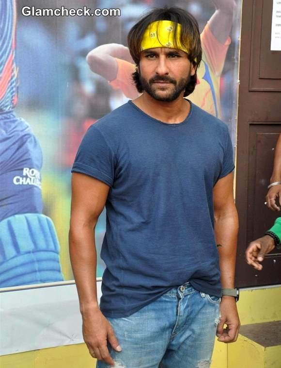 Saif Ali Khan Promotes Go Goa Gone at IPL